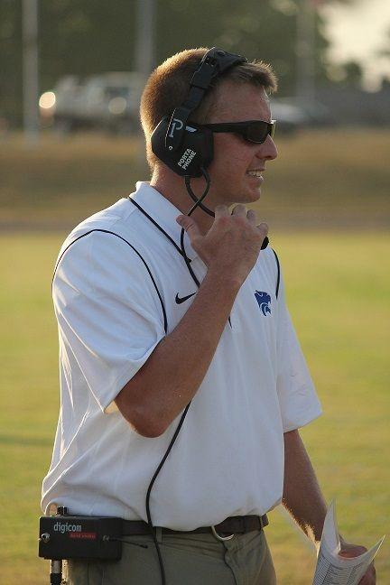 Head coach Steve Cole (Staff Photo)