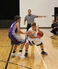 Sparta's Jonathan Jenkins (with ball) (Photo courtesy of Sparta High School)
