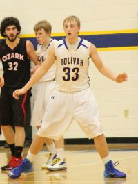 Bolivar's Brandon Emmert (Photo courtesy BHS)