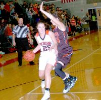 McDonald County's Preslea Reece (Photo by Rick Peck)