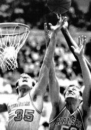 Former Glendale standout Greg Cavener (#35) (Photo courtesy of www.glendalebasketball.com)