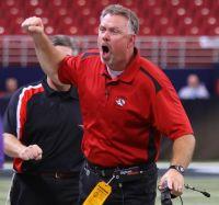 Lamar head coach Scott Bailey (Photo courtesy of Lamar HS)