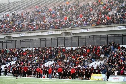 All of Lamar at 2016 state title game at Plaster Stadium in Springfield (Photo by Terry Redman)