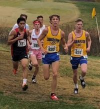 Will McCracken (630) and Cale Thiessen (634) (Photo courtesy of BHS)