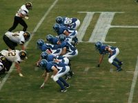 Hollister's first-ever home game (Photo courtesy of Hollister High School)