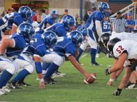 Hollister defeated Buffalo 44-6 in the Tigers' first official home varsity game on Sept. 3, 2010. (Photo courtesy of Creative Shots Photography)