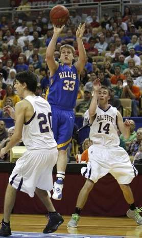 Billings All-Stater Brady Chastain (Photo by Jamie Meyer)