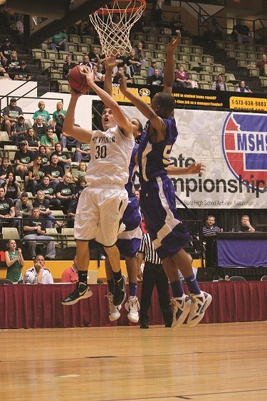 Mt. Vernon's Shane Williams helped lead the Mt'neers to the Class 3 Final Four. (Staff Photo)
