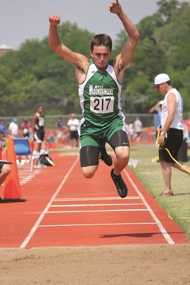 Mt. Vernon's Shane Williams is a state-title contender in at least three individual events. (Staff Photo)